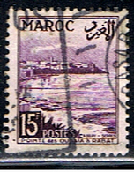 MAROC PROTECTORAT 335 // YVERT 312 // 1951-54 - Usados