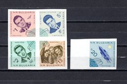 Bulgaria  1965  .-  Y&T  Nº   1310/1314      ** - Bulgaria