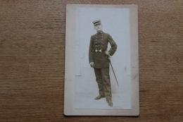 Cabinet Photographie Militaire  Officier  école De Médecine 1900 - War, Military