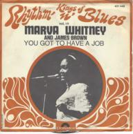 Vinyl 45 Tours MARVA WHITNEY AND JAMES BROWN - Blues