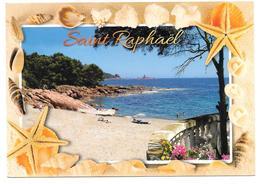 83 - Saint-Raphaël - L'Ile D'Or Vue De Boulouris - Ed. MISTRAL N° 56.67 - Coquillages, étoile De Mer - Boulouris