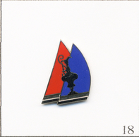 Pin's Sport - Nautisme / America's Cup. Estampillé ACPL Inc 1990. AMK Souvenirs. EGF. T695-18 - Barcos
