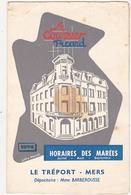 Le Courrier Picard - HORAIRES DES MAREES - 1974 - LE TREPORT - MERS - Europe