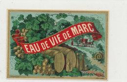 AN 742  / ETIQUETTE  EAU DE VIE DE MARC N° 224 - Etiquettes