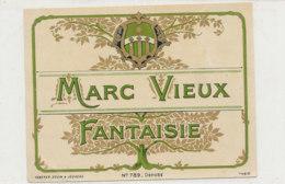 AN 745  / ETIQUETTE  MARC VIEUX   N° 789 - Labels