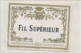 AN 758  / ETIQUETTE - FIL SUPERIEUR   N° 408 - Labels