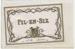 AN 762  / ETIQUETTE - FIL EN  SIX    N° 243 - Unclassified
