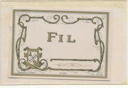 AN 763  / ETIQUETTE - FIL    N° 360 - Labels