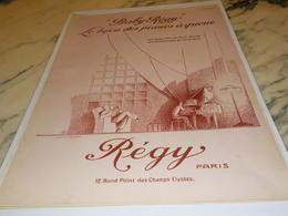ANCIENNE PUBLICITE PIANOS BABY REGY 1927 - Autres