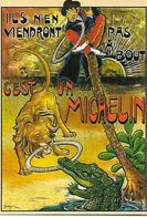 """CP- Publicité - Pneu De Vélo """"MICHELIN"""" (Ils N'en Viendront Pas A Bout) C'est Un MICHELIN. - Pubblicitari"""