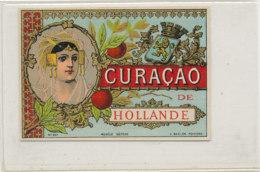 AN 809  / ETIQUETTE  -   CURACAO  DE HOLLANDE N° 257 - Fruits Et Légumes