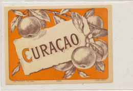 AN 812  / ETIQUETTE  -   CURACAO  N° 415 - Fruits Et Légumes