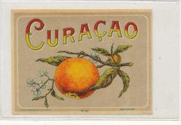 AN 813  / ETIQUETTE  -   CURACAO  N° 407 - Fruits Et Légumes