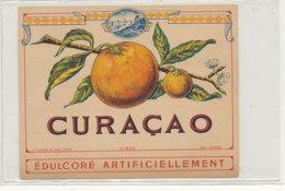 AN 815  / ETIQUETTE  -   CURACAO  N° 473 - Fruits Et Légumes