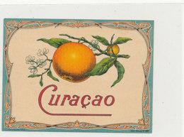 AN 816  / ETIQUETTE  -   CURACAO  N° 187 - Fruits Et Légumes