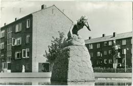 Breda 1971; Dr. Struyckenplein (met Monument De Baadster) - Gelopen. (Gebr. Spanjersberg - Rotterdam) - Breda