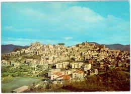 Castiglione Di Sicilia (Ct). Campo Sportivo E Panorama. VG. - Stades