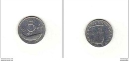 5 Lire Poisson   * - 1946-… : Republic