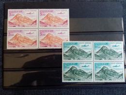 ANDORRE.1961.PA N°5/6/7/8. VALLEE D'INCLES.BLOC DE 4. Neuf++ - Poste Aérienne