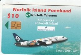 Norfolk Island - Air New Zealand Boeing 737-300 - Puzzle 1/4 - Norfolk Island