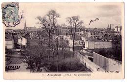6400 - Argenteuil ( 95 ) - Vue Panoramique - B.P. à Paris - N°18 - - Argenteuil