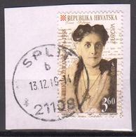 Croatia 1996 1 V Used EUROPA Ivana Brlić-Mažuranić Croatian Writer - Donne Celebri