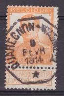 N° 116  TELEGRAPHIQUE QUAREGNON WASMUEL - 1912 Pellens