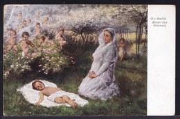 VIEILLE CPA ARTISTE - TABLEAU - PEINTURE - ART * BADITZ - Boten Des Himmels - Vision * Hanfstaengl' Kunstlerkarte Nr 140 - Pittura & Quadri
