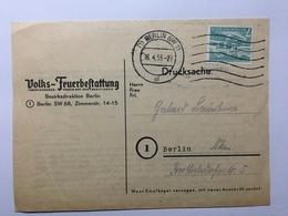GERMANY 1955 Berlin Cover - [5] Berlin