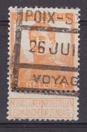N° 116  CHEMIN DE FER POIX - 1912 Pellens