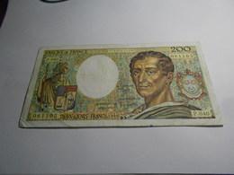 FRANCE  1986     -   200  FRANCS  BILLET - 1962-1997 ''Francs''