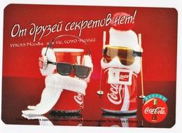 1997 -1998  RUSSIA  Russie Drink Coca Cola  Advertising -  Friends - Calendarios
