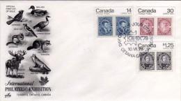 Canada 1978 Exhibition Philatelic CAPEX FDC - Esposizioni Filateliche