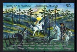 Aland 2008 NORDEN Mythologie Nordique Lieus Mythiques Joint Issue M/S - Emissioni Congiunte
