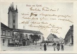 1906 - KOSTEL  Okres  KOCEVJE ,  Gute Zustand, 2 Scan - Slovenië