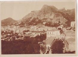 TAORMINA, SICILIA - SPAIN. CIRCA 1930's. PANORAMIC VIEW. PHOTO FOTO -LILHU - Luoghi