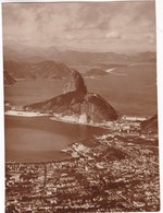 RIO DE JANEIRO - PAO DE ASSUCAR. N°57 ED T. PREISING.. CIRCA 1940's. PANORAMIC VIEW. PHOTO FOTO -LILHU - Luoghi