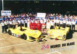 N°1180 T -cpsm Team Welter -24 Heures Du Mans 2003 - Le Mans