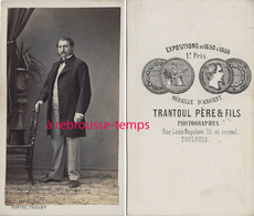 CDV Homme Mode Second Empire- Photo Trantoul Père Et Fils à Toulouse - Fotos