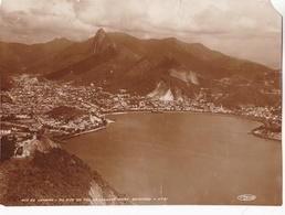RIO DE JANEIRO - DO ALTO DO PAO DE ASSUCAR BOTAFOGO. N°21 ED T. PREISING. CIRCA 1940's. PHOTO FOTO -LILHU - Luoghi