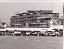 SWISSAIR - NATIONAL AIRLINE, SWITZERLAND. ZURICH. CIRCA 1980's. PHOTO FOTO -LILHU - Aviazione