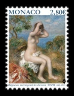 Monaco 2019 Mih. 3472 Bather Arranging Her Hair. Nude Painting Of Pierre-Auguste Renoir MNH ** - Nuevos