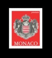 Monaco 2020 Mih. 3204II Definitive Issue. Arms Of Monaco MNH ** - Monaco