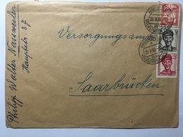 SAAR 1950 Cover Nassweiler To Saarbrucken - Covers & Documents