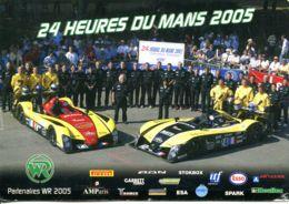 N° 1183 T -cpsm 24 Heures Du Mans 2005 -Team Gérard Et Rachel Welter- - Le Mans