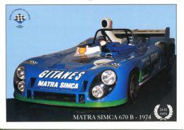 N° 1184 T -cpsm 24 Heures Du Mans 1974 -Matra Simca 670 B - Le Mans