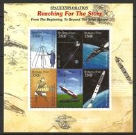 BURKINA FASO 2000  SPACE EXPLORATION SHEET MNH - Raumfahrt