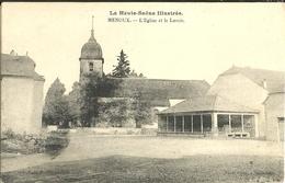 Menoux L Eglise Et Le Lavoir - Francia