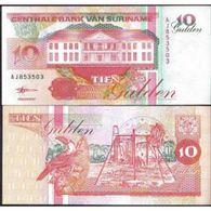 Billet Surinam 10 Gulden - Surinam