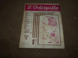 Recueil Wallon El Chariguète NOV 38 - Belgique